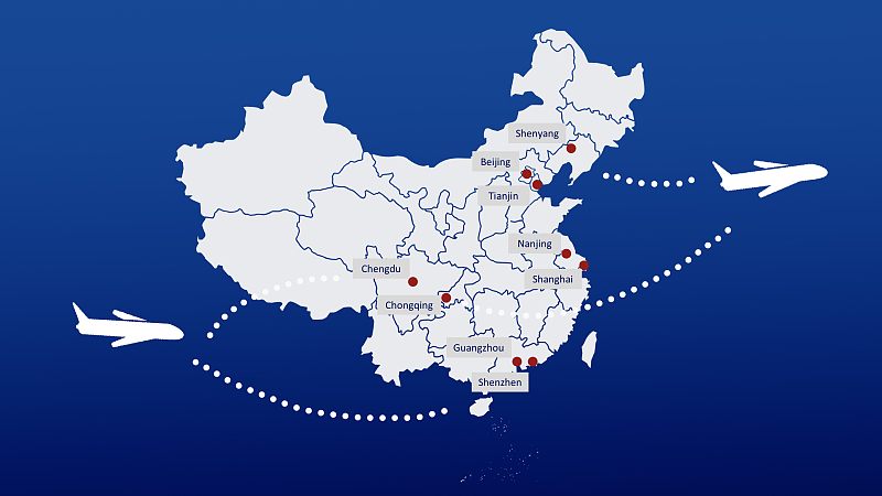 Travel Policies to and from Cities in China